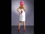 Платье-труба Xenia со шнуровкой на спинке