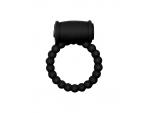 Чёрное эрекционное кольцо Rings Drums