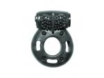 Черное эрекционное кольцо с вибрацией Rings Axle-pin #80746