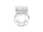 Прозрачное эрекционное кольцо с вибрацией Rings Axle-pin #80749