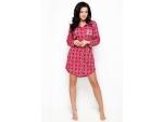 Клетчатая женская ночная рубашка Dalia #91621