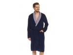 Мужской халат на запах с поясом #94411