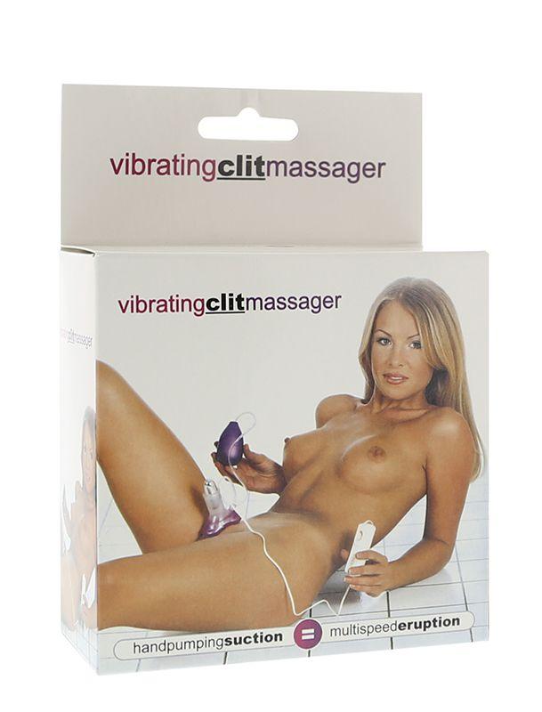 Вакуумный стимулятор клитора Vibrating Clit Massager - фото 128711