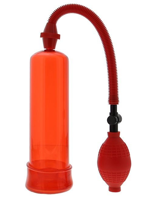 Вакуумная помпа Penis Enlarger Red - фото 133743