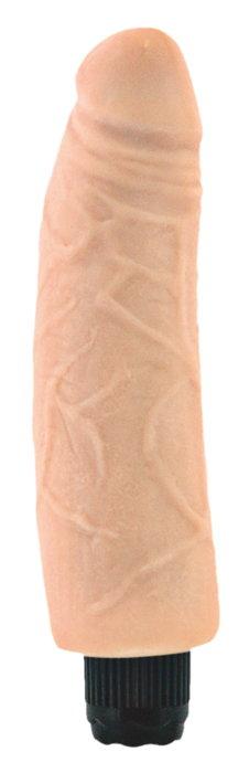 Большой вибратор Mr.Baton Soft №14 — 20 см.