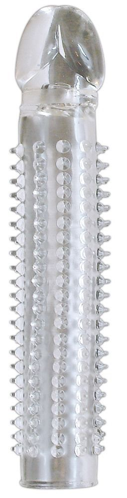 Прозрачная насадка на пенис Tailor Made Crystal с шипами