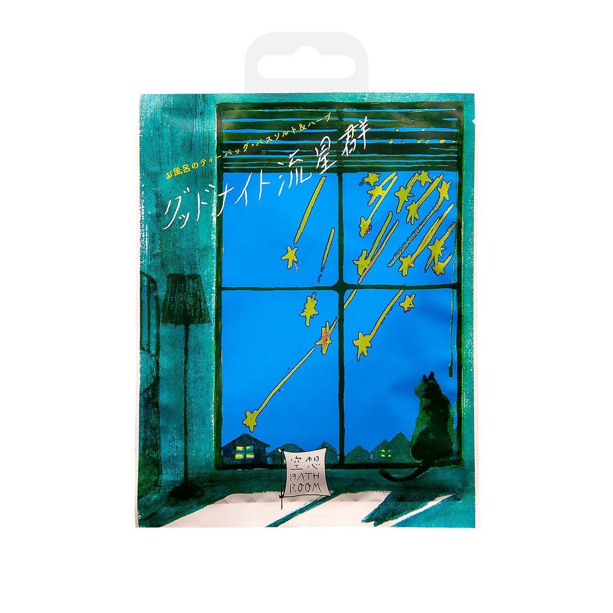 Соль для ванны  Романтика звездного дождя  с ароматом расслабляющих трав - 30 гр.