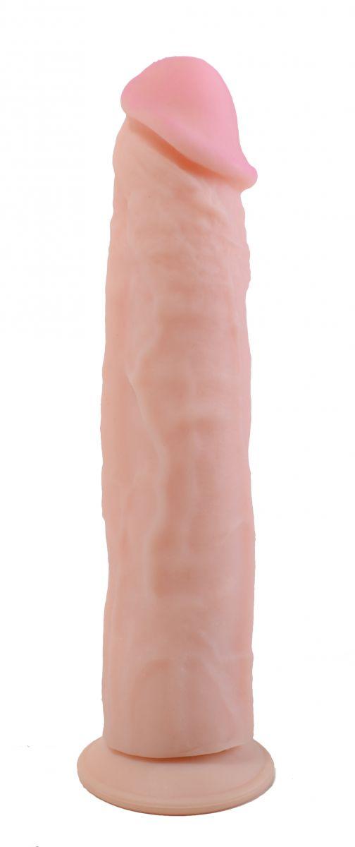 Фаллоимитатор без мошонки на присоске ANDROID Collection-VI - 23,2 см.