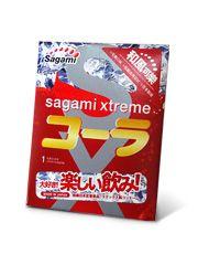 Ароматизированный презерватив Sagami Xtreme COLA - 1 шт.
