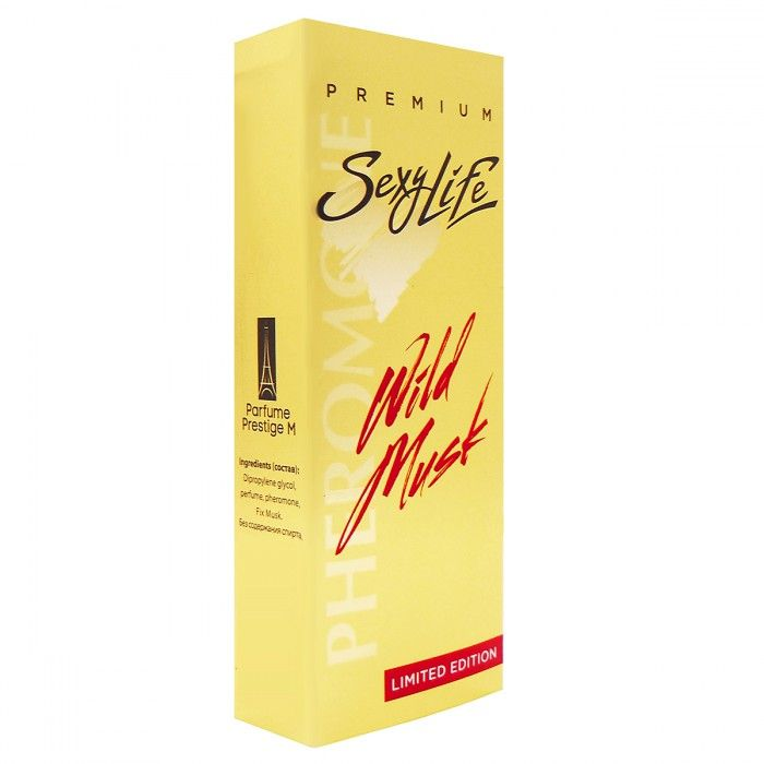 Мужские духи Wild Musk №2 с мускусом и феромонами - 10 мл.
