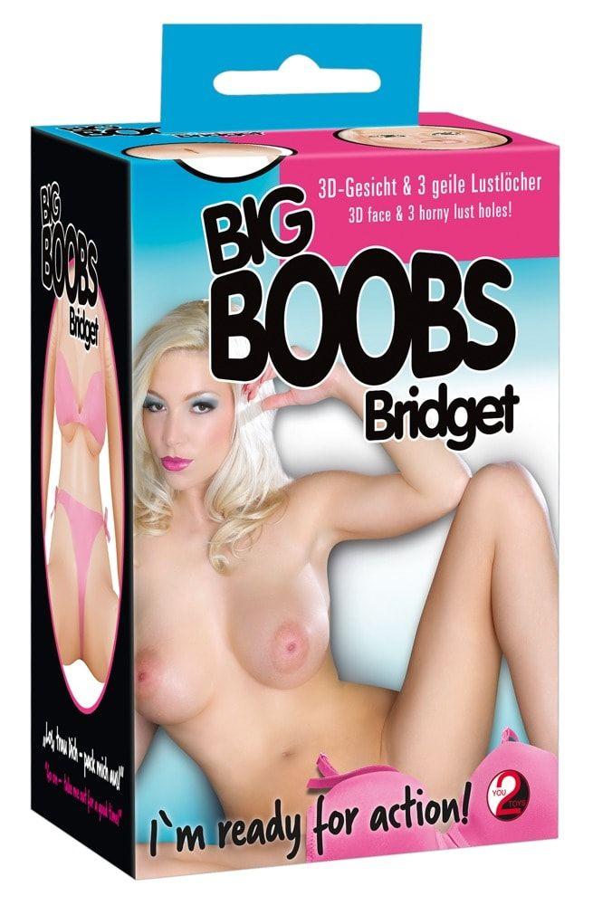 Надувная секс-кукла с большим бюстом Big Boob Bridges