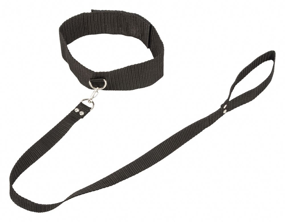 Ошейник Bondage Collection Collar and Leash One Size