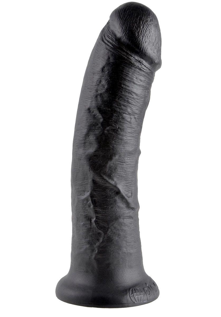 Чёрный фаллоимитатор 8  Cock - 20,3 см.
