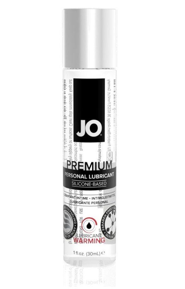 Разогревающий лубрикант на силиконовой основе JO Personal Premium Lubricant Warming - 30 мл.
