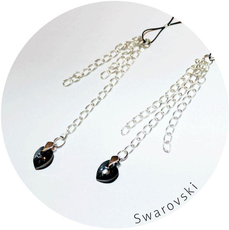 Украшение для груди с кристаллами Swarovski