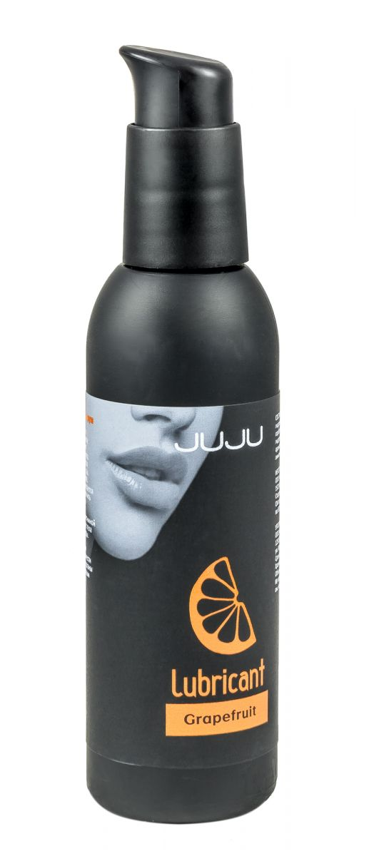 Съедобный лубрикант JUJU с ароматом грейпфрута - 150 мл.