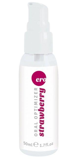 Увлажняющий гель для орального секса с ароматом клубники - 50 мл.