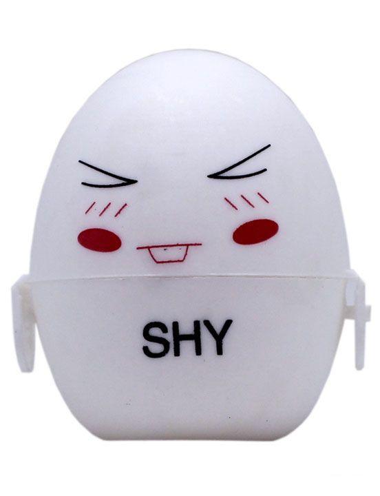 Белый мастурбатор-яйцо SHY PokeMon