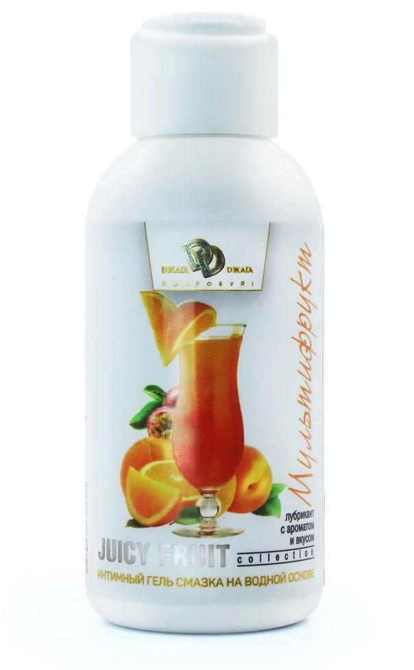 Интимный гель на водной основе JUICY FRUIT с ароматом фруктов - 100 мл.