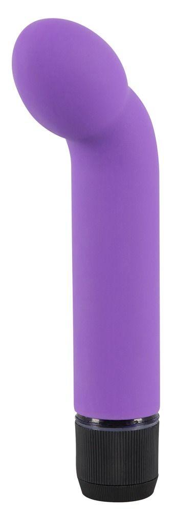 Фиолетовый вибростимулятор G+P Spot Lover - 16 см.