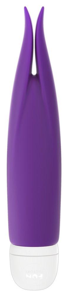 Фиолетовый мини-вибратор Volita для клиторальной стимуляции