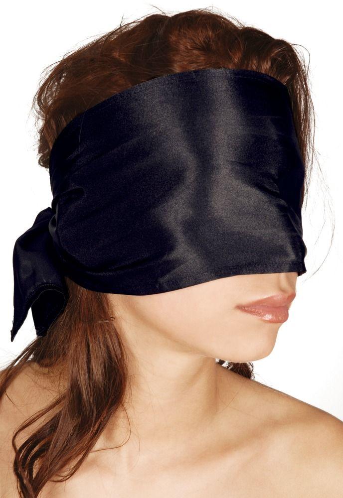 Широкая повязка-шарф на глаза Bad Kitty Bondage Scarf