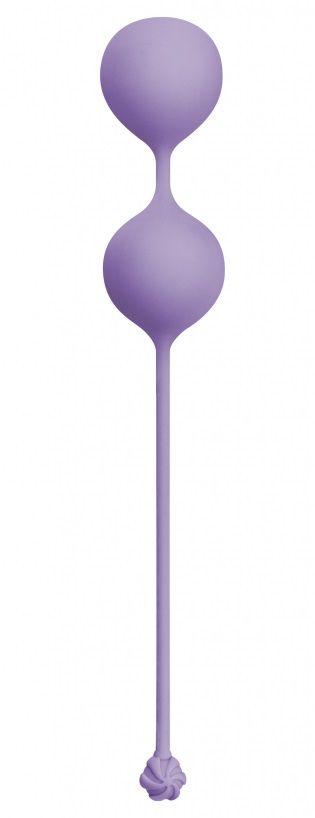 Фиолетовые вагинальные шарики Love Story Empress Lavender Sunset