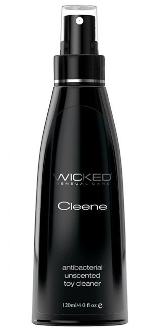 Спрей-очиститель для защиты от бактерий WICKED Cleene - 120 мл.