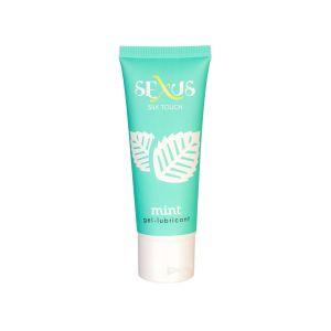 Увлажняющая гель-смазка с ароматом мяты Silk Touch Mint - 50 мл.