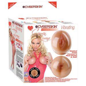 Надувная секс-кукла с вибрацией TLC Carmen Luvana CyberSkin Inflatable Sex Doll Vibrating