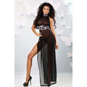 Полупрозрачное тюлевое платье Etra