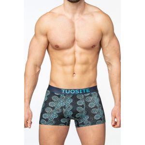 Мужские трусы-боксеры с узором в виде мандалы