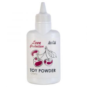 Пудра для игрушек Love Protection с ароматом вишни - 30 гр.
