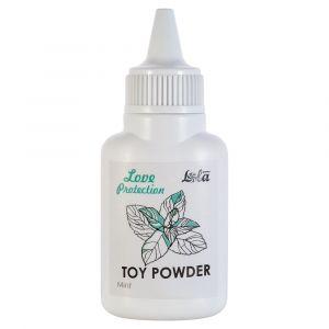 Пудра для игрушек Love Protection с ароматом мяты - 15 гр.