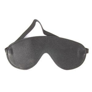 Плотная черная маска на глаза Notabu