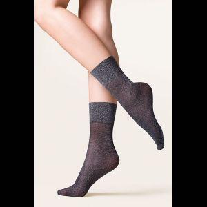 Носочки Tova с блестящей нитью