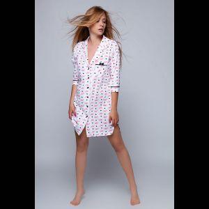 Женская сорочка-рубашка Vogue на пуговках