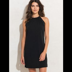 Оригинальное короткое женское пляжное платье