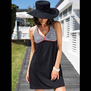 Оригинальное короткое женское пляжное платье Lauren