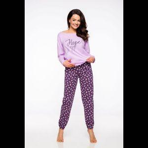 Женская пижама Jula с фиолетовыми брючками