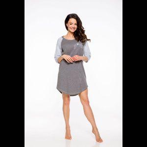 Женская сорочка Mocca с контрастными рукавами реглан