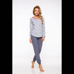 Женская пижама Roza с зауженными брюками