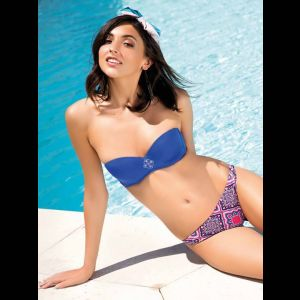 Раздельный женский купальник Bazar с эффектом пуш-ап
