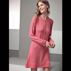 Оригинальная женская сорочка с длинными рукавами