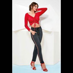Женские брюки Mila с кармашками