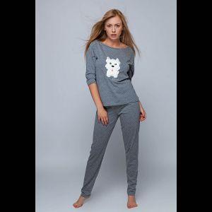 Оригинальная женская пижама Coco с аппликацией