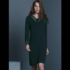 Женская сорочка с длинным рукавом