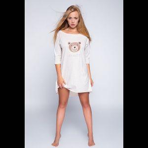 Короткая сорочка Bear с изображением медведя
