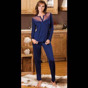 Изысканная пижама из эластичного вискозного полотна