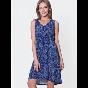 Платье с завышенной талией из вискозы